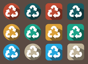 724 recycle icons