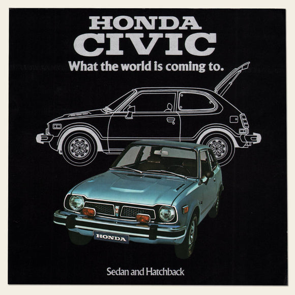 1975 Honda CIVIC Dealer Brochure