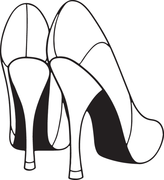 Copy of 95RA - Woman's high heel shoes