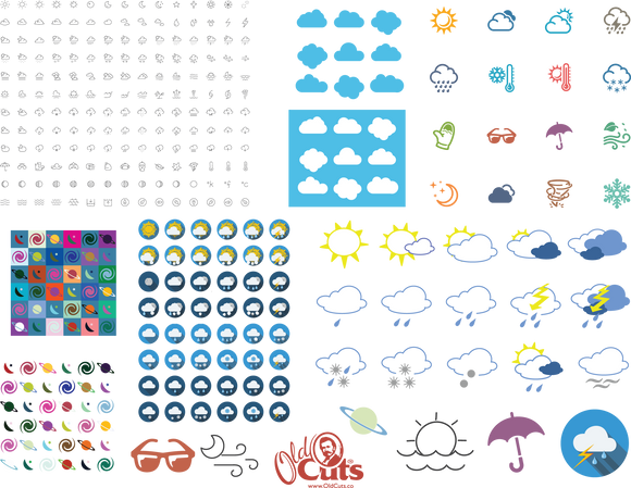A10 Weather Icons