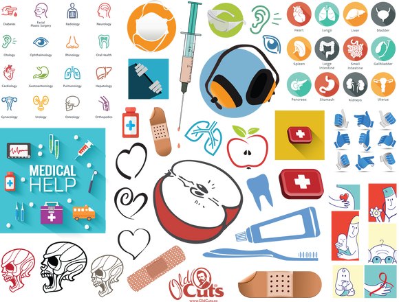 A19 Body and Health Icons and Images (medical)