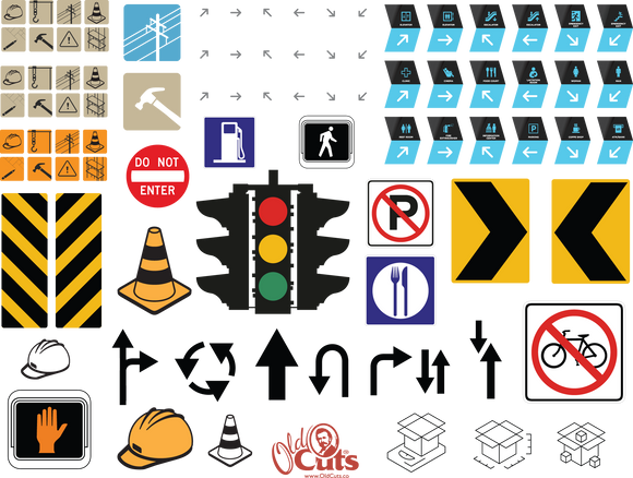 A20 Arrows & Signs