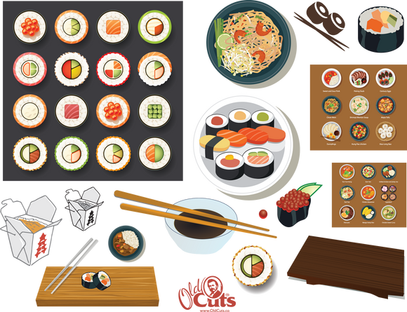 A7 Asian Food (sushi)