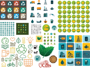 A9 Eco & Energy Icons