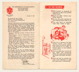 "1950 ""Protection from the ATOMIC BOMB"" pamphlet"