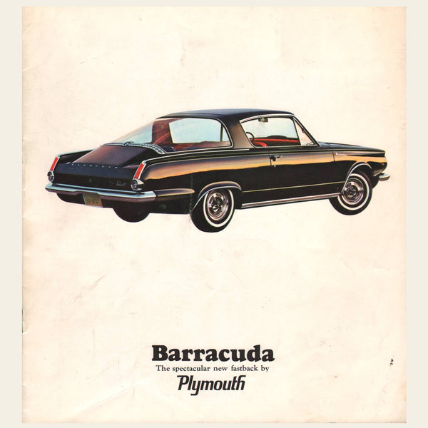 1964 Plymouth Barracuda Brochure