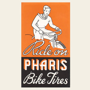 1930s, 1940s Pharis Bike Tires