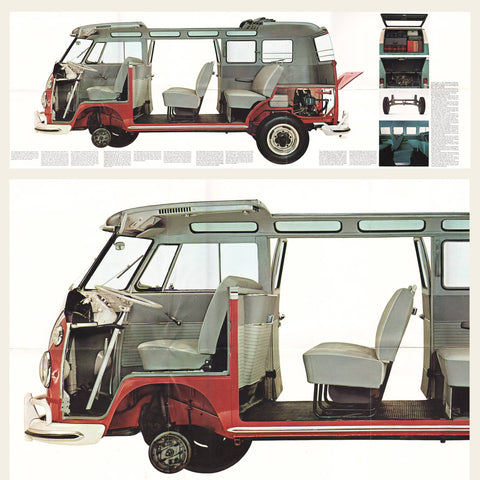 1965, 1966 Volkswagen Type 2 Trucks Brochure