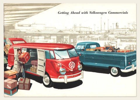 1959 Volkswagen Type 2 (Bus) Brochure