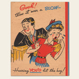 "1940s(?) Maco ""Get Well"" Greeting Card"