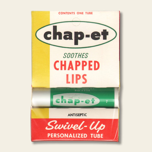 NOS Chap-et Balm Display Box and  Chap Stick