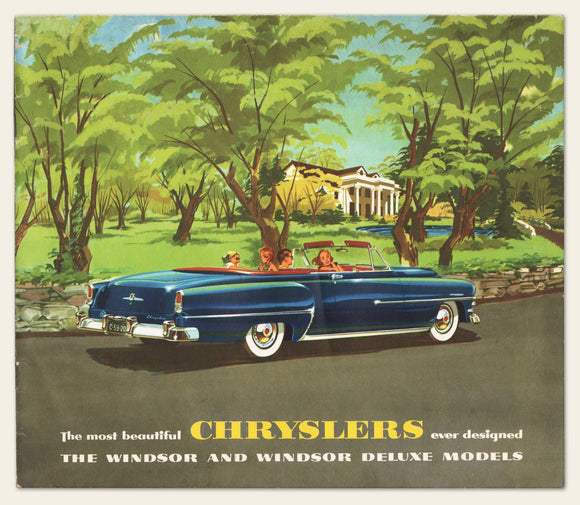1953 Chrysler Brochure