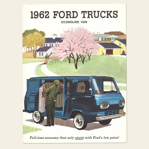 1962 Ford Econoline Trucks Brochure