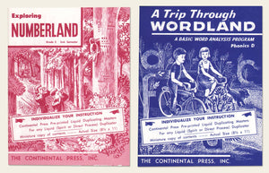 1950s Continental Press Education Miniatures