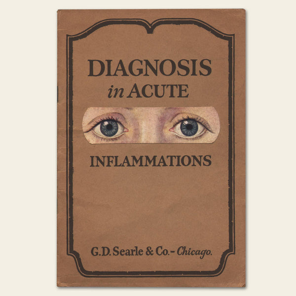 1925 G.D. Searle & Co. Eye Diagnosis Brochure