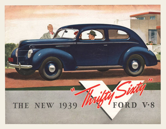 1939 Ford V8 Thrifty Six Brochure