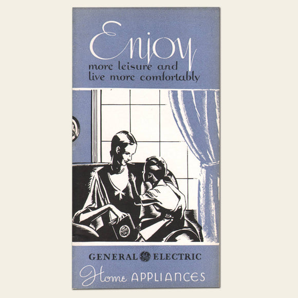 1931 General Electric Home Appliances Brochure