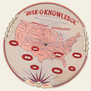 1931 Disk-O-Knowledge
