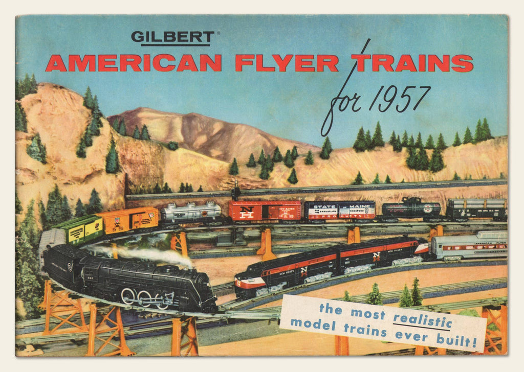 1957 Gilbert American Flyer Trains Catalog – OldCuts