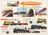1957 Gilbert American Flyer Trains Catalog