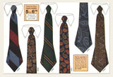 Haband Tie Company brochures and samples