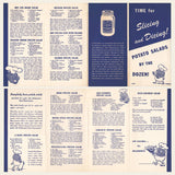 1930s Hellmanns and Muellers Recipe Brochures
