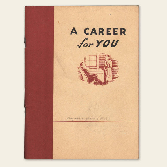 1947 Insurance Career Book