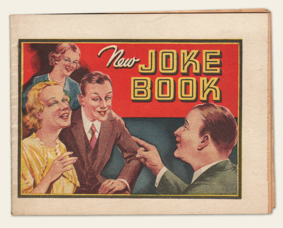 1930s Dr. Miles Joke Book