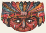 1920s Jolly Juniors Native American Mask