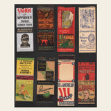 (8) 1930s / 1940s Matchbook Covers (F)