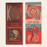 (8) 1930s & 1940s Matchbook Covers (A)