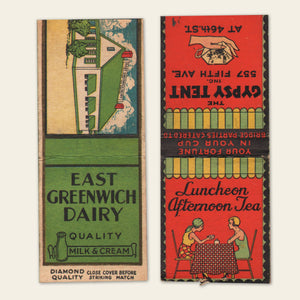 (8) 1930s / 1940s Matchbook Covers (C)