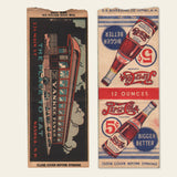 (8) 1930s / 1940s Matchbook Covers (D)