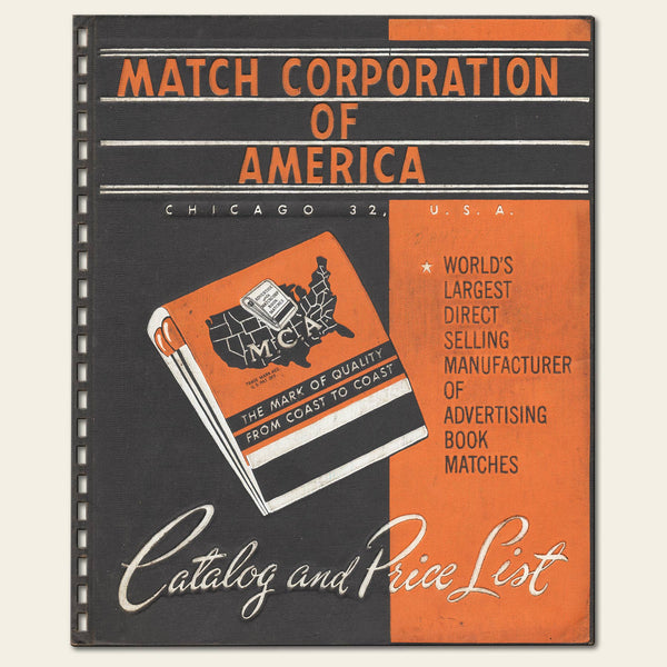 1953 Match Corporation of America Catalog