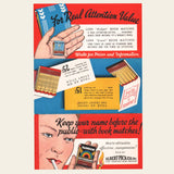 1930s Lion Book Matches Brochure