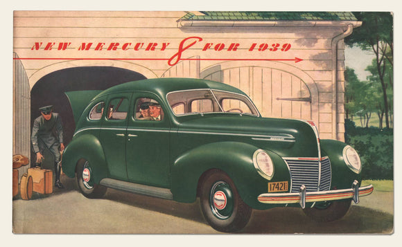 1939 Mercury 8 Brochure