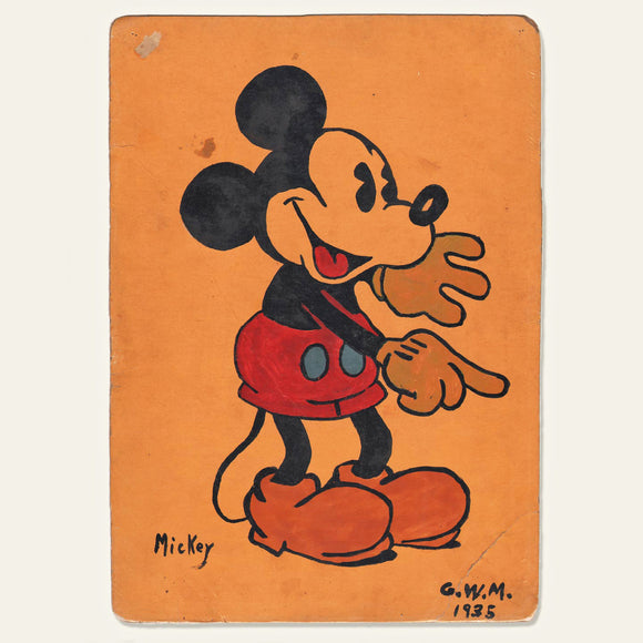 1935 Mickey Mouse Illustration