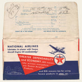 National Airline Ticket Jacket and