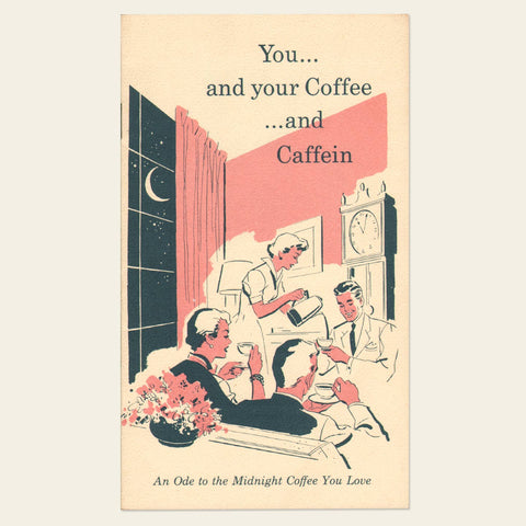 1950s Nestlé Company Decaf Coffee Brochure