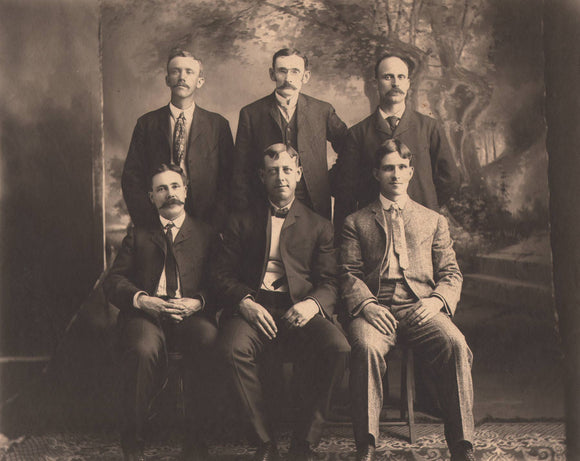 Early 20th Century Portrait (photo) of 6 men