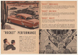 1952 Oldsmobile Rocket Sales Brochure