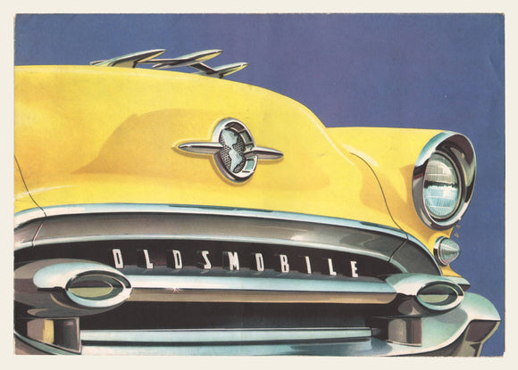 1955 Oldsmobile Brochure