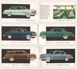 1954 Plymouth Business Card Brochure, RARE