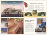 1940 Plymouth Deluxe Brochure & Chart