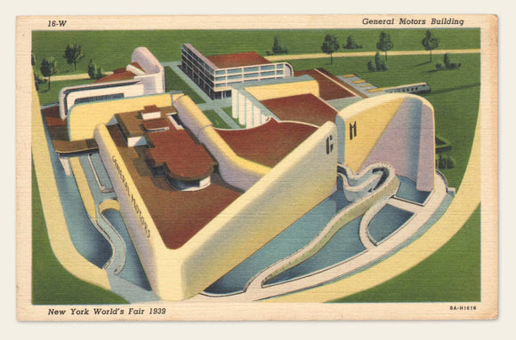 (4) Vintage postcards from the 1930s - 1950s