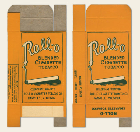 1920s Rollo Cigarette Tobacco Box