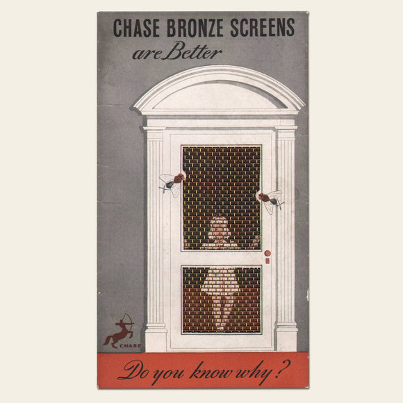 1930s Chase Bronze Screens
