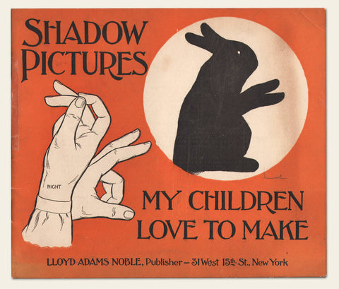 1914 Children's Shadow Pictures Book