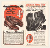 1930s Wear-u-well Shoes Brochure