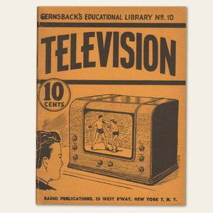 1938 Gernsack's Educational Library No. 10, Television